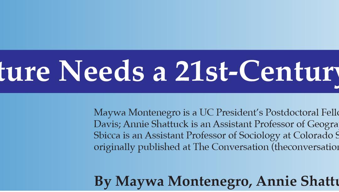 New 21st-Century Ag Deal