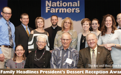 President's Dessert Reception Honors Standouts